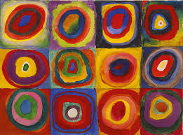 Wassily Kandinsky — Color Study. Squares with Concentric Circles, 1913