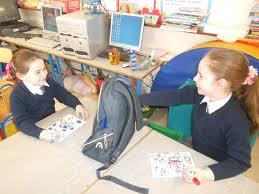 Using barrier games for the teaching of positional language, demonstration  of understanding & categorisation – Let's get those kids talking!